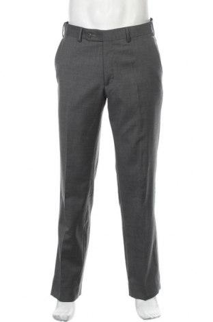Ανδρικό παντελόνι Daniel Hechter, Μέγεθος L, Χρώμα Γκρί, Μαλλί, Τιμή 18,70€