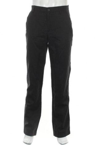 Ανδρικό παντελόνι Diadora, Μέγεθος M, Χρώμα Μαύρο, 44% βαμβάκι, 56% λινό, Τιμή 16,01€