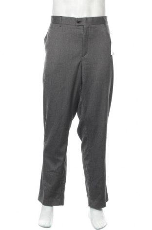 Ανδρικό παντελόνι Kiabi, Μέγεθος XXL, Χρώμα Γκρί, 73% πολυεστέρας, 25% βισκόζη, 2% ελαστάνη, Τιμή 16,76€