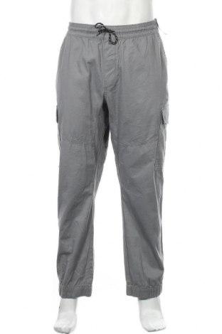 Ανδρικό παντελόνι No Boundaries, Μέγεθος XXL, Χρώμα Γκρί, 98% βαμβάκι, 2% ελαστάνη, Τιμή 27,28€