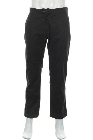 Мъжки панталон Sasch, Размер M, Цвят Черен, 55% лен, 45% памук, Цена 13,86лв.