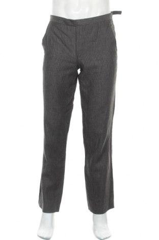 Ανδρικό παντελόνι Ted Baker, Μέγεθος M, Χρώμα Γκρί, Λινό, Τιμή 22,60€