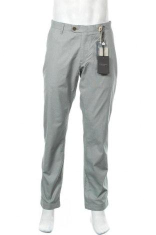 Ανδρικό παντελόνι Ted Baker, Μέγεθος XL, Χρώμα Πράσινο, 97% βαμβάκι, 3% ελαστάνη, Τιμή 65,47€