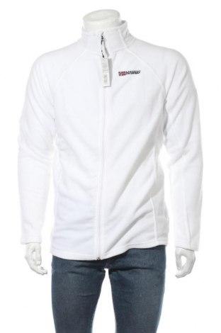 Ανδρικό φούτερ fleece Geographical Norway, Μέγεθος L, Χρώμα Λευκό, Πολυεστέρας, Τιμή 20,65€