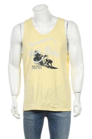 Ανδρική αμάνικη μπλούζα Charles Vogele, Μέγεθος L, Χρώμα Κίτρινο, Βαμβάκι, Τιμή 9,35€