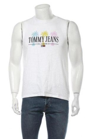 Ανδρική αμάνικη μπλούζα Tommy Hilfiger, Μέγεθος M, Χρώμα Λευκό, Βαμβάκι, Τιμή 24,74€