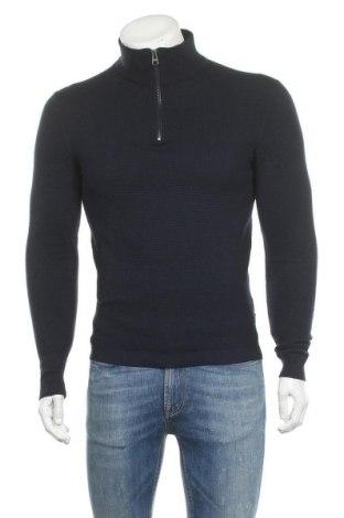 Мъжки пуловер Esprit, Размер S, Цвят Син, 95% памук, 5% кашмир, Цена 17,98лв.