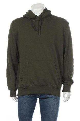 Мъжки суичър PUMA, Размер M, Цвят Зелен, 97% памук, 3% еластан, Цена 44,50лв.