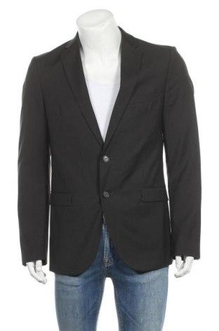 Ανδρικό σακάκι Cinque, Μέγεθος L, Χρώμα Μαύρο, Μαλλί, Τιμή 33,85€