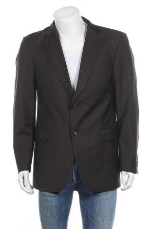 Ανδρικό σακάκι Strellson, Μέγεθος L, Χρώμα Καφέ, Μαλλί, Τιμή 26,08€
