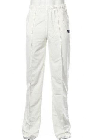 Ανδρικό αθλητικό παντελόνι GM, Μέγεθος S, Χρώμα Λευκό, Πολυεστέρας, Τιμή 9,72€