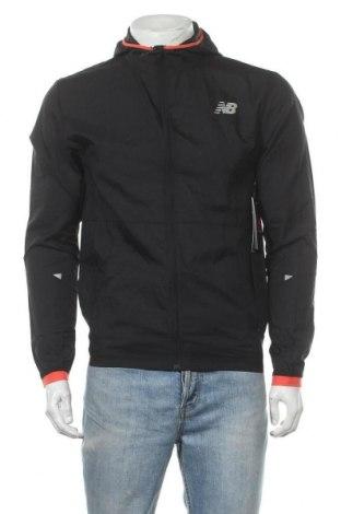 Ανδρικό αθλητικό μπουφάν New Balance, Μέγεθος S, Χρώμα Μαύρο, Τιμή 46,16€