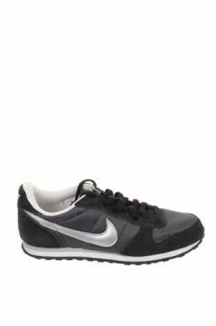 Обувки Nike, Размер 37, Цвят Черен, Естествен велур, текстил, Цена 43,52лв.