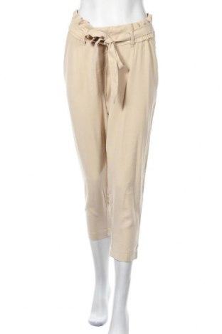 Панталон за бременни H&M Mama, Размер L, Цвят Бежов, 92% вискоза, 8% полиестер, Цена 20,16лв.