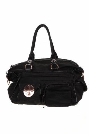 Τσάντα ταξιδιού Mimco, Χρώμα Μαύρο, Κλωστοϋφαντουργικά προϊόντα, Τιμή 25,40€