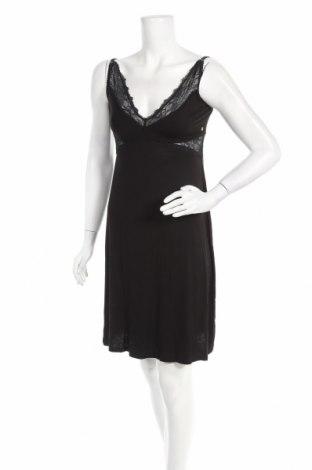 Пижама Biba, Размер S, Цвят Черен, 96% вискоза, 4% еластан, Цена 29,67лв.