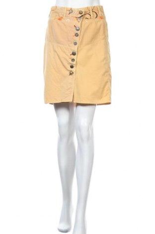 Пола Billabong, Размер XL, Цвят Жълт, Памук, Цена 23,10лв.