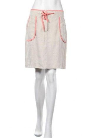 Φούστα Caroll, Μέγεθος M, Χρώμα Γκρί, Λινό, Τιμή 22,73€