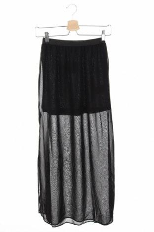 Φούστα H&M Divided, Μέγεθος XS, Χρώμα Μαύρο, Πολυεστέρας, Τιμή 5,46€