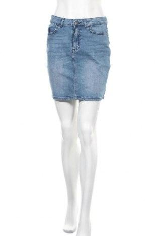Φούστα Ichi, Μέγεθος S, Χρώμα Μπλέ, 98% βαμβάκι, 2% ελαστάνη, Τιμή 18,25€