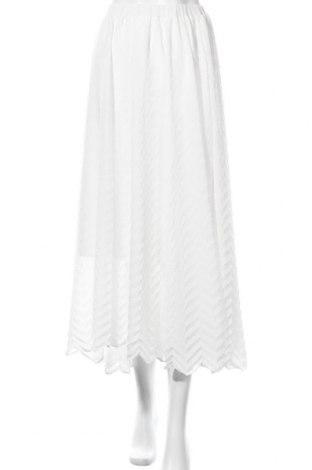 Φούστα Just Female, Μέγεθος L, Χρώμα Λευκό, Πολυεστέρας, Τιμή 23,64€
