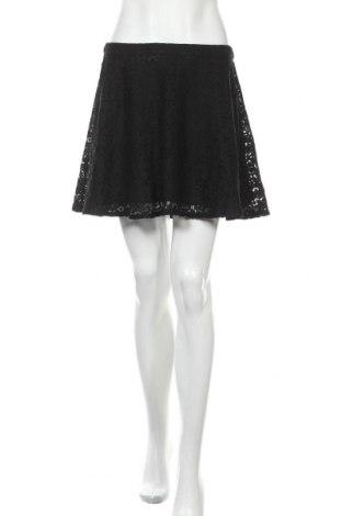 Φούστα Promod, Μέγεθος M, Χρώμα Μαύρο, 52% βαμβάκι, 48% πολυαμίδη, Τιμή 12,96€