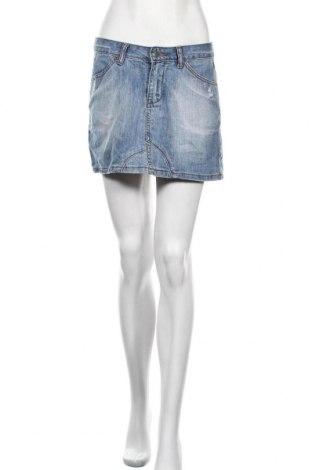 Φούστα Vert De Rage, Μέγεθος M, Χρώμα Μπλέ, Βαμβάκι, Τιμή 4,77€