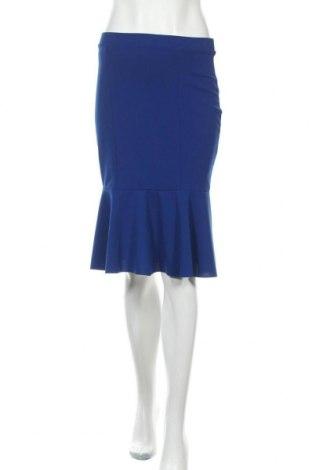 Φούστα Wal G, Μέγεθος M, Χρώμα Μπλέ, 95% πολυεστέρας, 5% ελαστάνη, Τιμή 11,14€