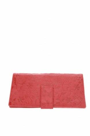 Портмоне Saddler, Цвят Червен, Естествена кожа, Цена 33,92лв.