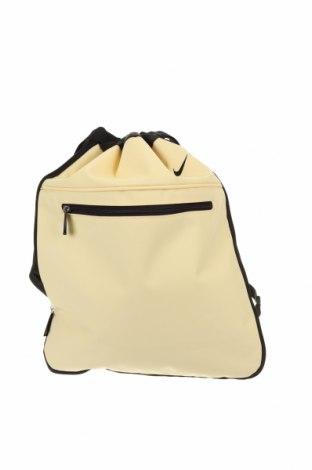 Раница Nike, Цвят Жълт, Текстил, Цена 45,36лв.