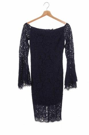 Φόρεμα Bardot, Μέγεθος XS, Χρώμα Μπλέ, 37% βισκόζη, 35% πολυαμίδη, 28% βαμβάκι, Τιμή 12,45€