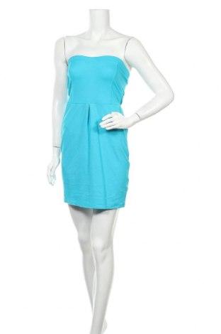 Φόρεμα Bik Bok, Μέγεθος M, Χρώμα Μπλέ, 69% βισκόζη, 26% πολυαμίδη, 5% ελαστάνη, Τιμή 14,81€