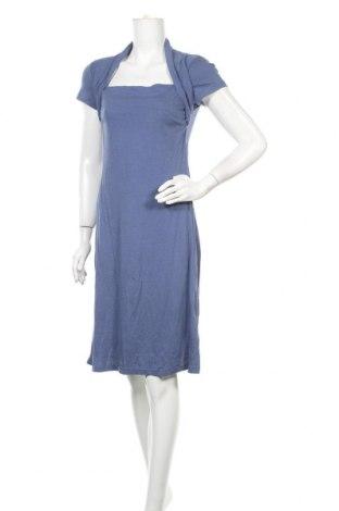 Φόρεμα Blue Motion, Μέγεθος M, Χρώμα Μπλέ, 50% βαμβάκι, 50% βισκόζη, Τιμή 27,28€