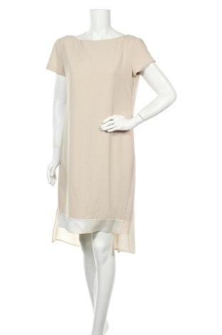 Φόρεμα Blumarine, Μέγεθος L, Χρώμα  Μπέζ, 92% πολυεστέρας, 8% ελαστάνη, Τιμή 225,15€