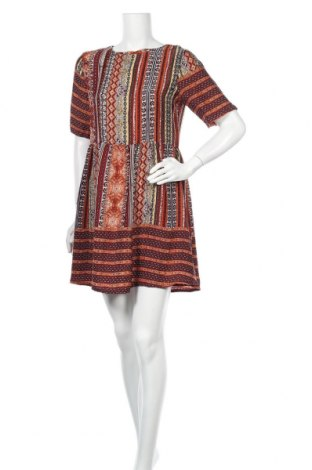 Φόρεμα Boohoo, Μέγεθος M, Χρώμα Πολύχρωμο, Πολυεστέρας, Τιμή 14,62€