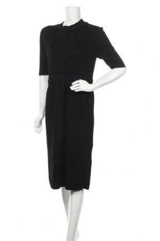 Φόρεμα COS, Μέγεθος L, Χρώμα Μπλέ, 40% βαμβάκι, 33% βισκόζη, 27% πολυαμίδη, Τιμή 45,47€