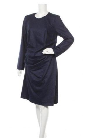 Φόρεμα Cacharel, Μέγεθος L, Χρώμα Μπλέ, Μαλλί, Τιμή 127,53€