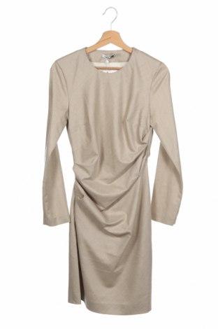 Φόρεμα Cacharel, Μέγεθος XS, Χρώμα  Μπέζ, Μαλλί, Τιμή 127,53€