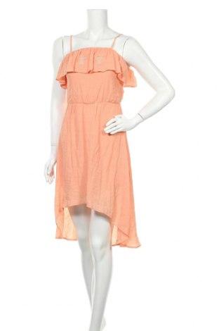 Φόρεμα Charlotte Russe, Μέγεθος S, Χρώμα Πορτοκαλί, 63% βισκόζη, 37% πολυεστέρας, Τιμή 8,57€
