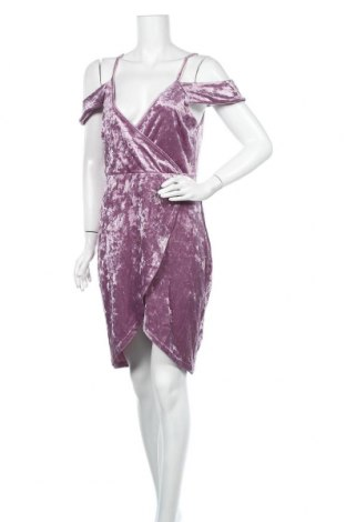 Φόρεμα Charlotte Russe, Μέγεθος L, Χρώμα Βιολετί, 95% πολυεστέρας, 5% ελαστάνη, Τιμή 9,29€