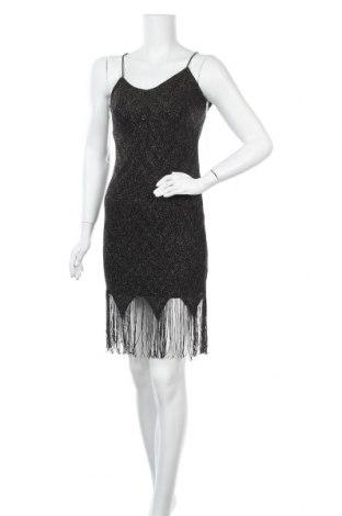 Φόρεμα Charlotte Russe, Μέγεθος S, Χρώμα Μαύρο, 80% πολυαμίδη, 20% μεταλλικά νήματα, Τιμή 27,15€
