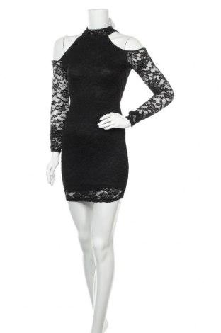 Φόρεμα Charlotte Russe, Μέγεθος S, Χρώμα Μαύρο, 92% πολυαμίδη, 8% ελαστάνη, Τιμή 22,80€