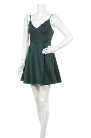 Φόρεμα Charlotte Russe, Μέγεθος M, Χρώμα Πράσινο, 96% πολυεστέρας, 4% ελαστάνη, Τιμή 16,05€