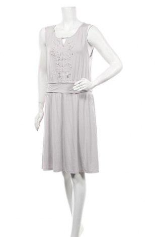 Φόρεμα Comma,, Μέγεθος L, Χρώμα Γκρί, 92% βισκόζη, 8% ελαστάνη, Τιμή 35,17€