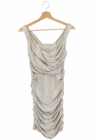 Φόρεμα Express, Μέγεθος XS, Χρώμα  Μπέζ, Πολυεστέρας, Τιμή 9,10€