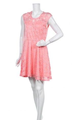 Φόρεμα Fb Sister, Μέγεθος XL, Χρώμα Ρόζ , 77% βισκόζη, 23% πολυεστέρας, Τιμή 25,92€