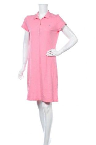 Рокля Gant, Размер M, Цвят Розов, Памук, Цена 58,59лв.