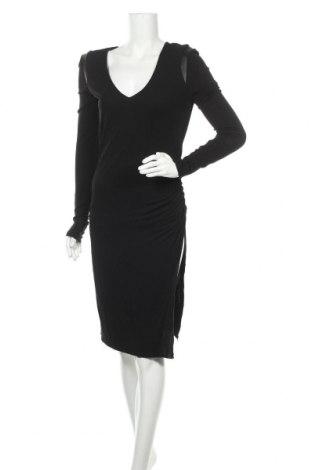 Φόρεμα Gestuz, Μέγεθος M, Χρώμα Μαύρο, Βισκόζη, δερματίνη, Τιμή 39,90€