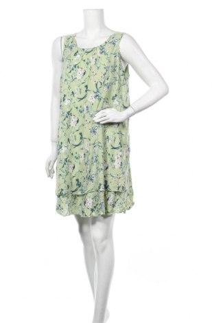 Рокля Gina, Размер XL, Цвят Зелен, Вискоза, Цена 23,10лв.