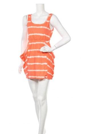 Φόρεμα Gina Tricot, Μέγεθος S, Χρώμα Πορτοκαλί, Βαμβάκι, Τιμή 13,64€